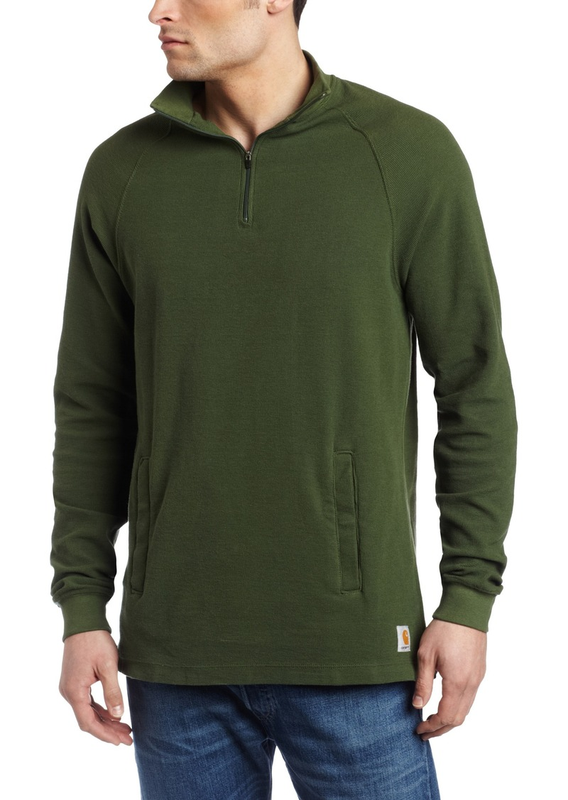 On sale today carhartt carhartt men 39 s textured knit mock for Mens mock turtleneck shirts sale