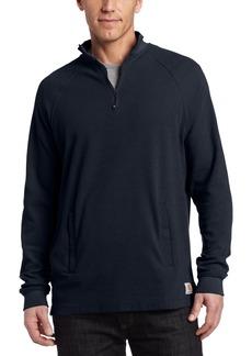 Carhartt Men's Textured Knit Mock Neck Shirt Quarter Zip Original FitNavy  (Closeout)