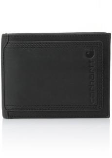 Carhartt Men's Top Grain Leather Passcase Contrasting Stitch
