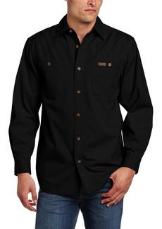 Carhartt Men's Trade Long Sleeve Shirt Canvas Button Front Original Fit