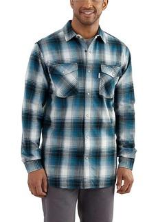 Carhartt Men's Trumbull Snap Front Plaid Shirt