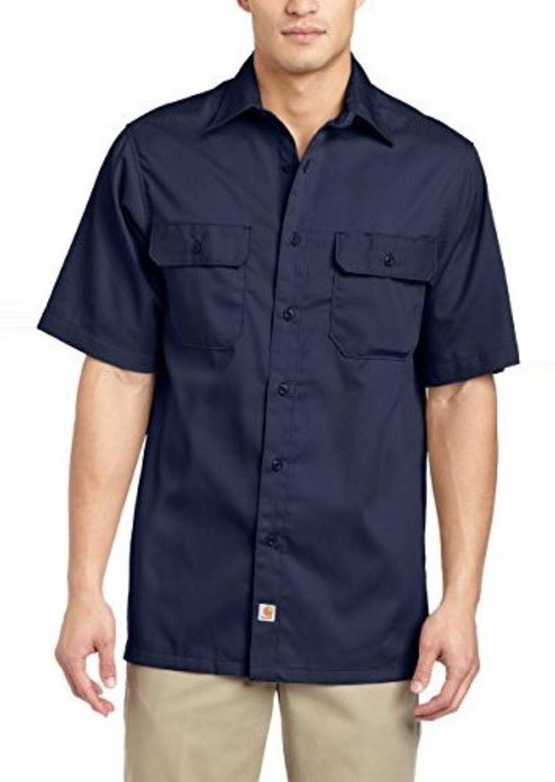 carhartt carhartt men 39 s twill short sleeve work shirt