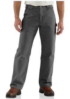 Carhartt Men's Washed Duck Work Dungaree Flannel Lined Pant