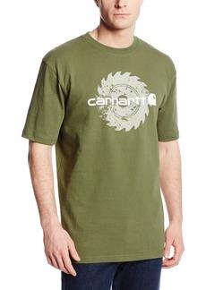 Carhartt Men's Workwear Graphic Saw Blade Short Sleeve T-ShirtArmy Green  (Closeout)