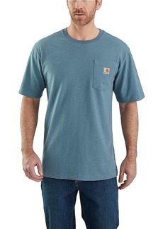 Carhartt Men's Workwear Logo Fish Graphic Pocket SS T-Shirt