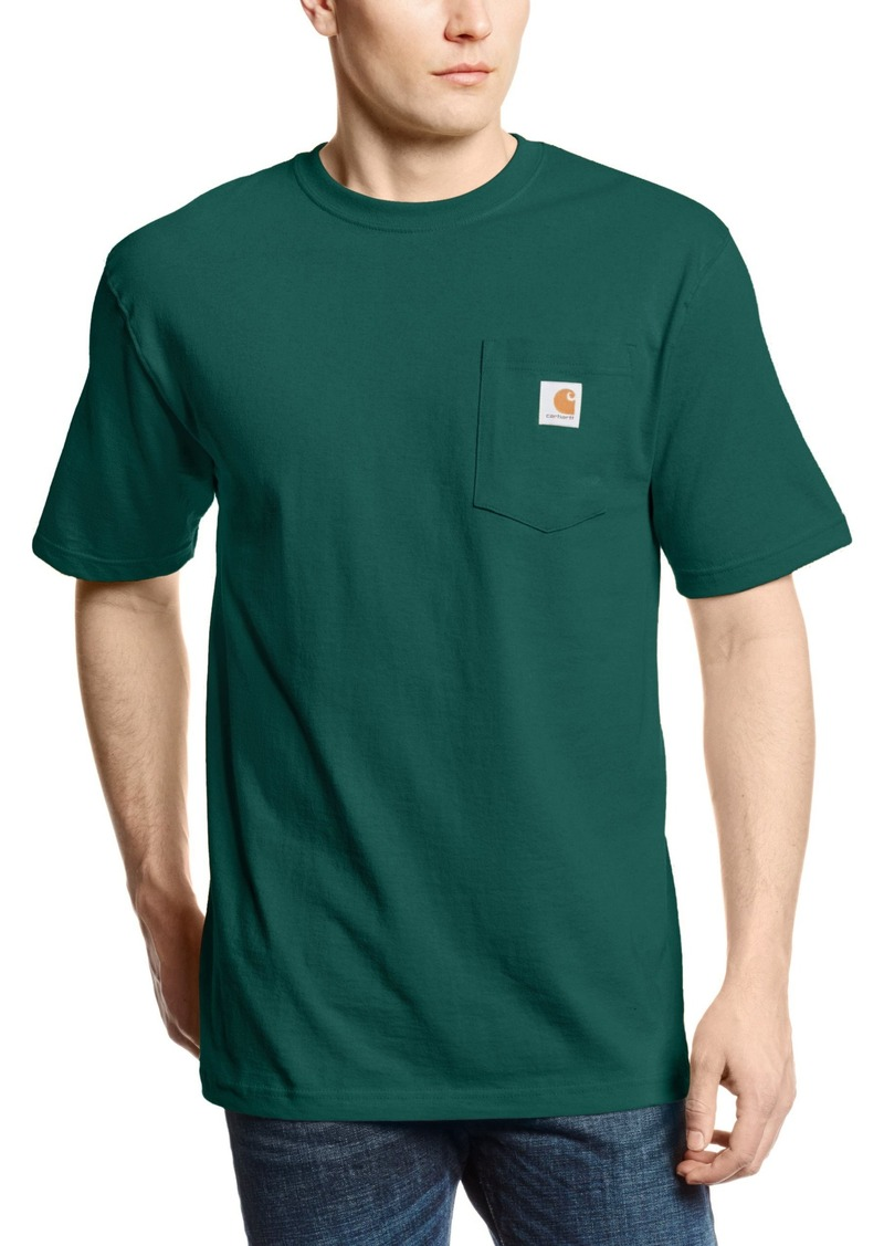 carhartt carhartt men 39 s 39 k87 39 workwear pocket short sleeve