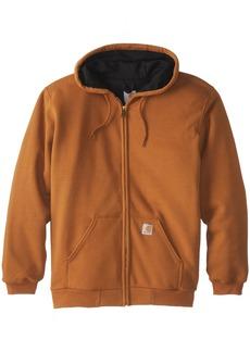 Carhartt Rutland Thermal-Lined Hooded Zip-Front Sweatshirt Brown