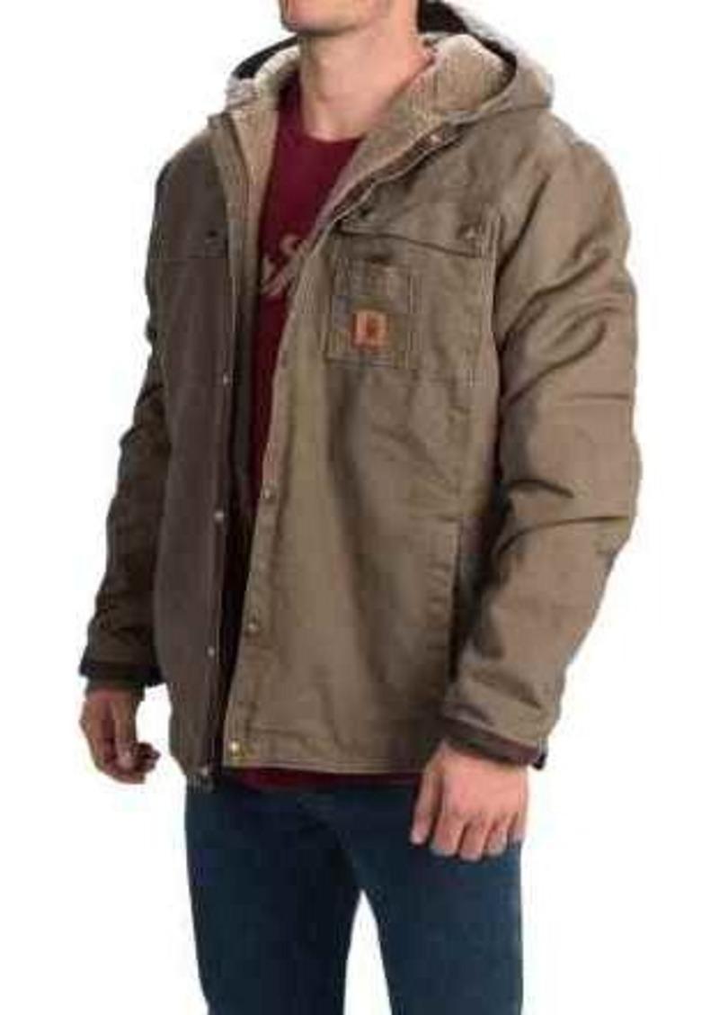 Carhartt Carhartt Sandstone Hooded Multi Pocket Jacket