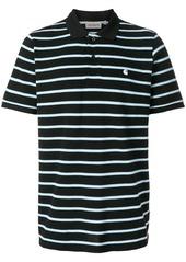 Carhartt striped polo shirt - Black