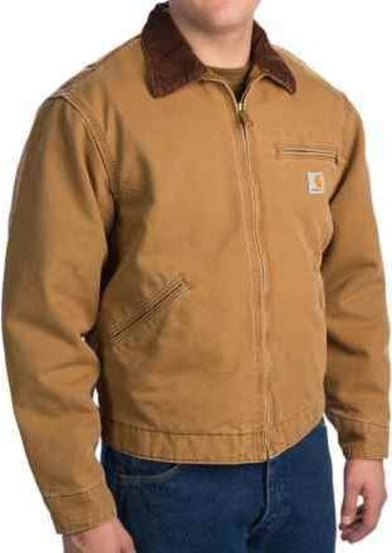 a042b3c2d965 Carhartt Carhartt Weathered Duck Detroit Jacket - Blanket-Lined (For ...