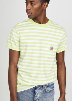 Carhartt WIP Scotty Short Sleeve Striped Pocket Tee