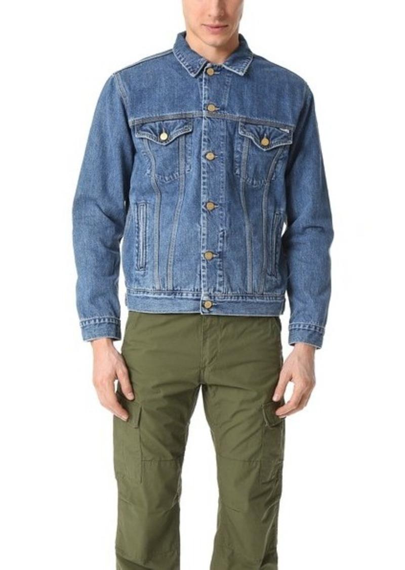 99cf4ace05 Carhartt Carhartt WIP Stone Washed Western Jacket