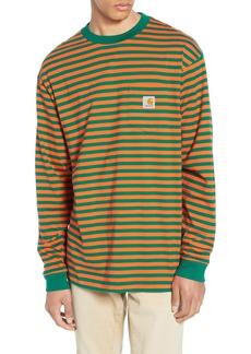 Carhartt Work In Progress Barkley Stripe Pocket T-Shirt