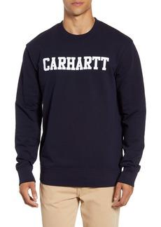 Carhartt Work in Progress College Logo Sweatshirt