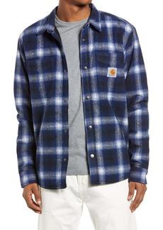 Carhartt Work In Progress Lashley Regular Fit Plaid Shirt Jacket