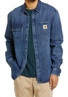 Carhartt Work In Progress Men's Salinac Denim Shirt Jacket