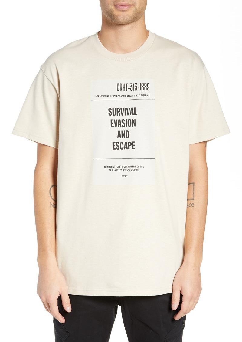 70ca08a1 Carhartt Carhartt Work in Progress Survival Graphic T-Shirt | T Shirts