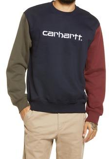 Carhartt Work in Progress Tricolor Graphic Sweatshirt