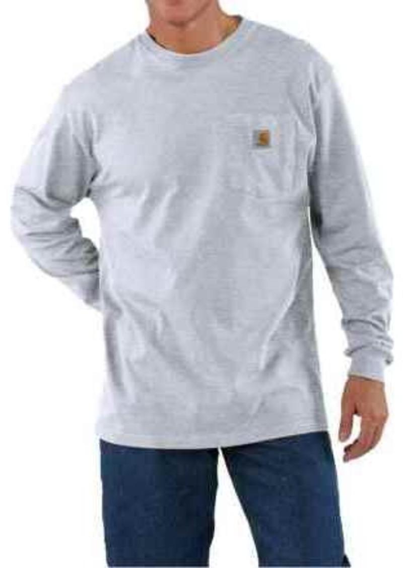 Carhartt carhartt work wear shirt long sleeve for tall for Carhartt work shirts tall
