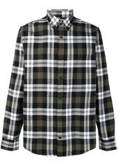 Carhartt check printed shirt