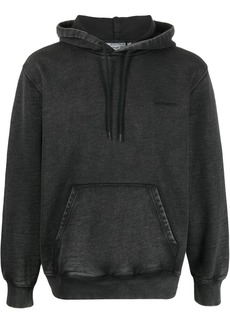 Carhartt faded-effect cotton hoodie