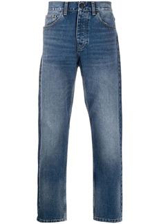Carhartt high-rise straight-leg jeans