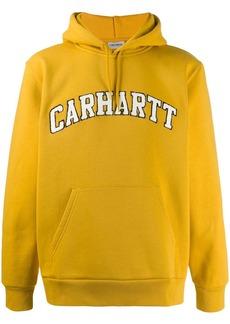 Carhartt hooded logo embroidery sweatshirt