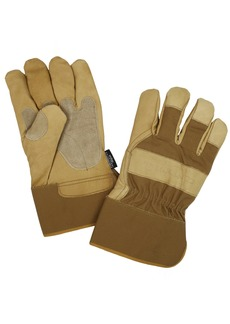 Carhartt Men's Insulated Grain Leather Work Glove with Safety Cuff