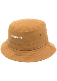 Carhartt logo embroidered bucket hat