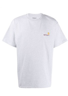 Carhartt logo embroidered T-shirt