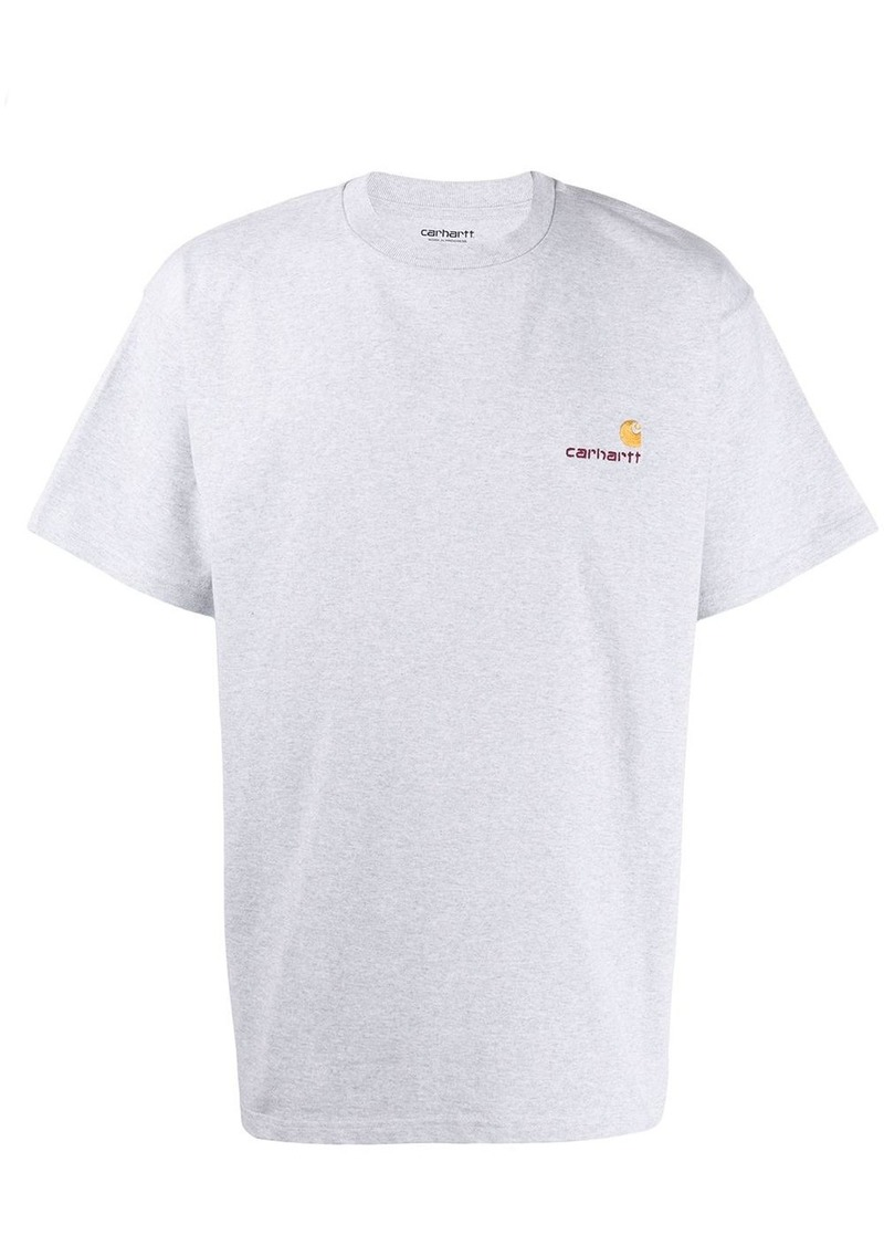 Carhartt logo embroidered T-shirt