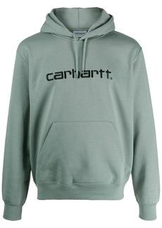 Carhartt logo embroidery hoodie