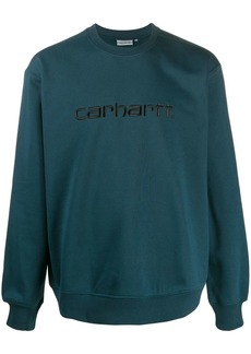 Carhartt logo embroidery sweatshirt