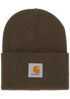 Carhartt logo patch beanie