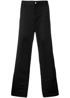 Carhartt logo patch wide-leg trousers