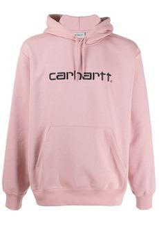 Carhartt logo printed hoodie