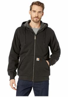 Carhartt Rain Defender® Rockland Sherpa Lined Full Zip Hooded Sweatshirt
