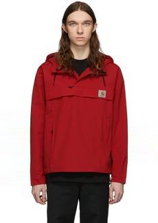 Carhartt Red Nimbus Pullover Jacket