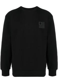 Carhartt State logo print sweatshirt
