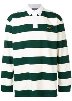 Carhartt striped polo shirt