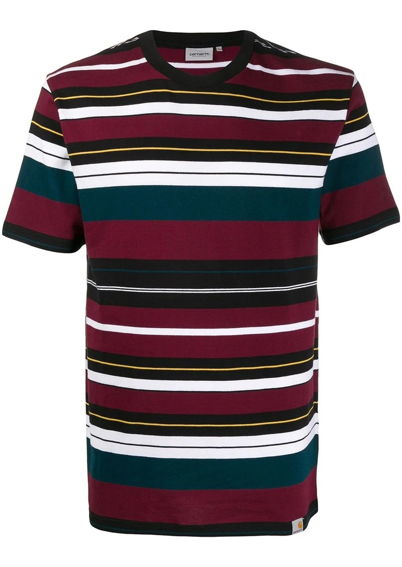 Carhartt striped print T-shirt