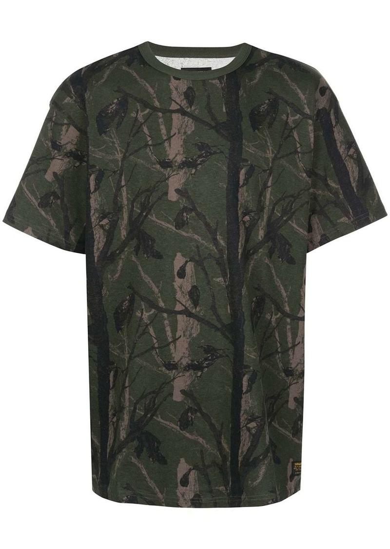 Carhartt tree print short-sleeve T-shirt