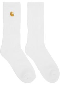 Carhartt White & Gold Chase Socks