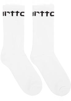Carhartt White Logo Socks