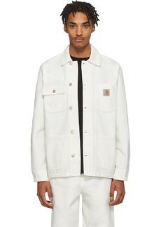 Carhartt White Michigan Jacket