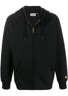 Carhartt zipped drawstring hoodie