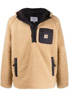 Carhartt zipped fleece hoodie