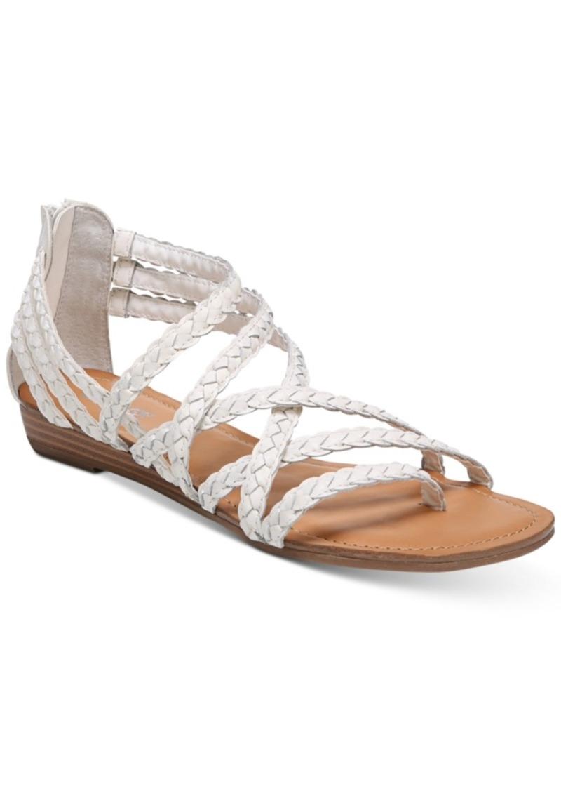Carlos by Carlos Santana Amara Braided Flat Sandals Women's Shoes