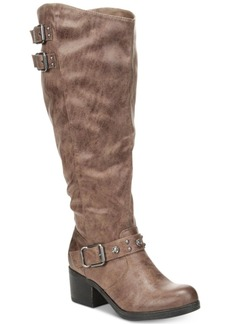 Carlos by Carlos Santana Cara Wide-Calf Tall Riding Boots Women's Shoes