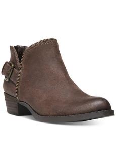 Carlos by Carlos Santana Cayenne Buckle Block-Heel Booties Women's Shoes